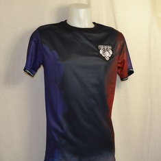 t-shirt frenchcore football jersey skull