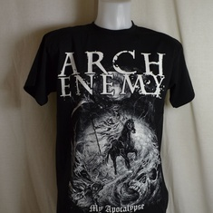 t-shirt arch enemy apocalyptic rider