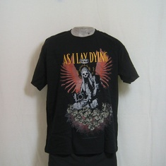 t-shirt as i lay dying angel statue