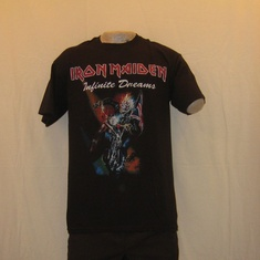 t-shirt iron maiden infenite dreams
