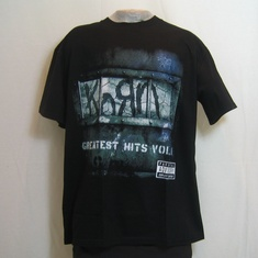 t-shirt korn greatest hits