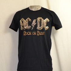 t-shirt acdc rock or bust